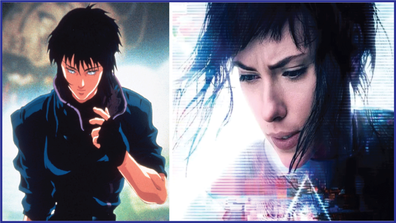 Ghost in the Shell- Live Action Anime Movies
