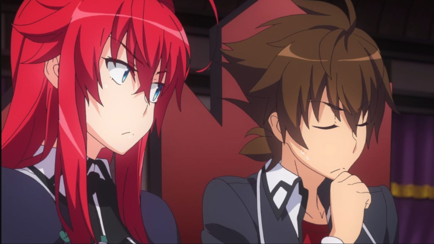 anime similar to redo of healer- high school dxd