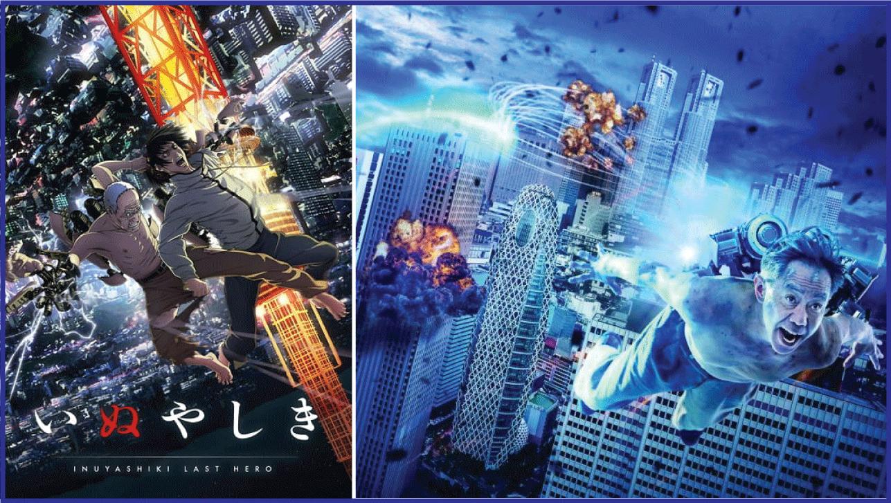 Inuyashiki- Live Action Anime Movies