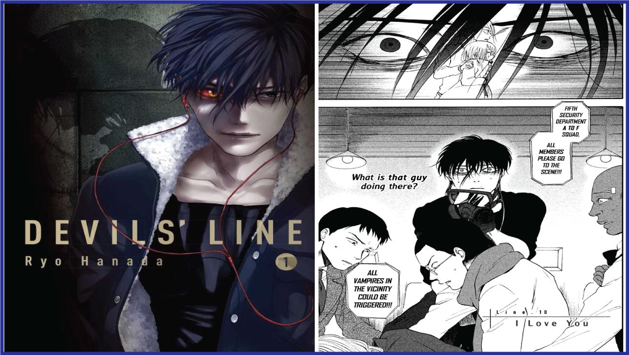 Devil's Line- manga like Tokyo Ghoul