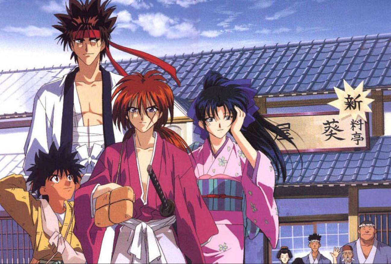 Rurouni Kenshin watch order guide