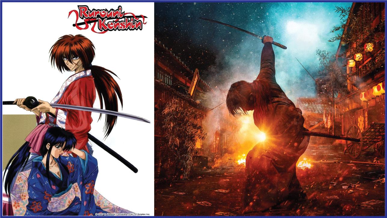 Rurouni Kenshin- Live Action Anime Movies