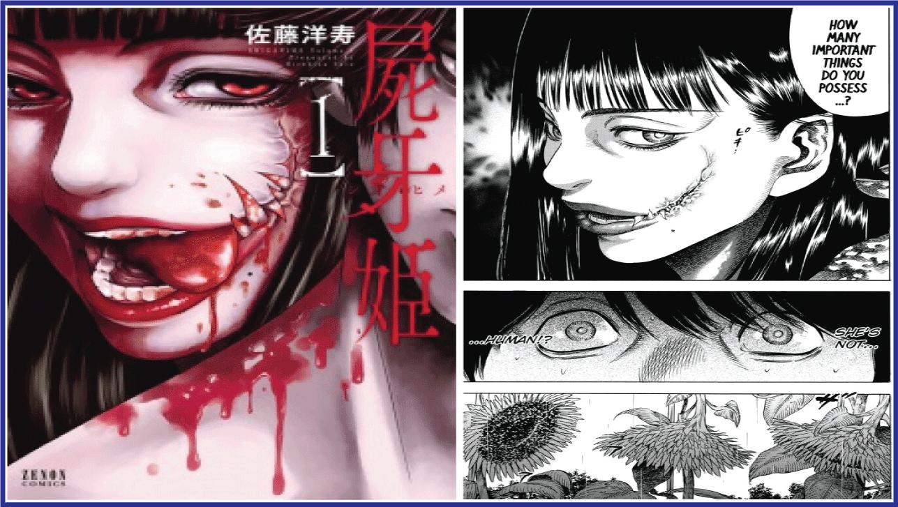 Shigahime- manga like Tokyo Ghoul
