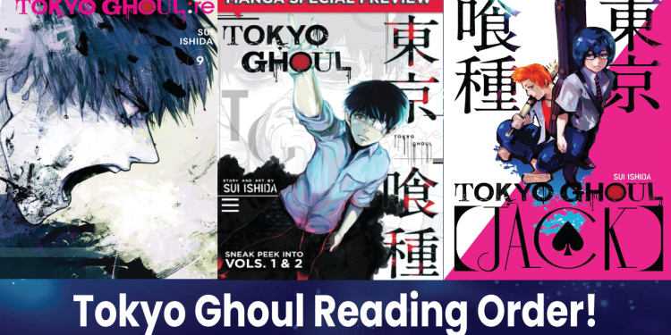 tokyo ghoul manga order
