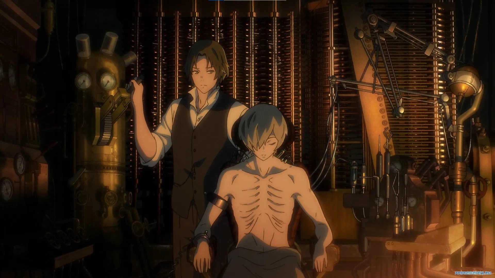 The Empire of Corpses- best zombie anime