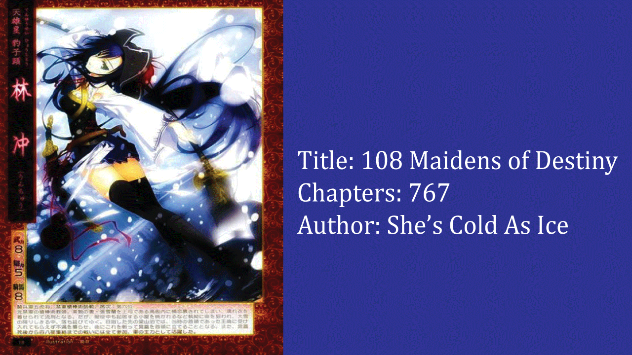 108 Maidens of Destiny- best cultivation novels