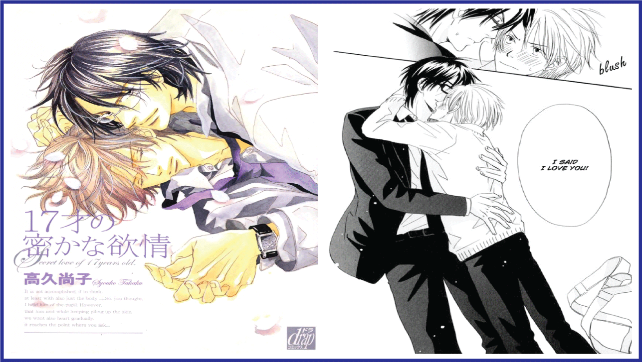 17 Sai no Hisoka na Yokujou- best yaoi hentai manga