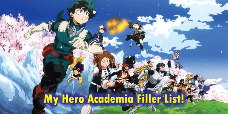 My Hero Academia filler list