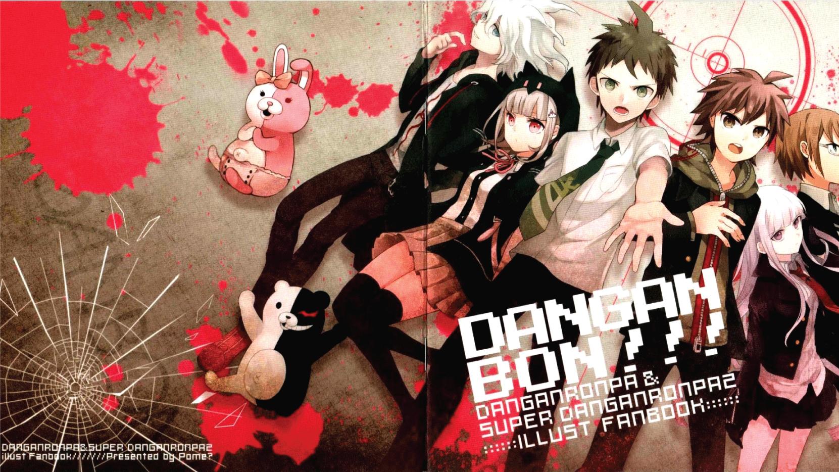 Danganronpa Light Novel Order: