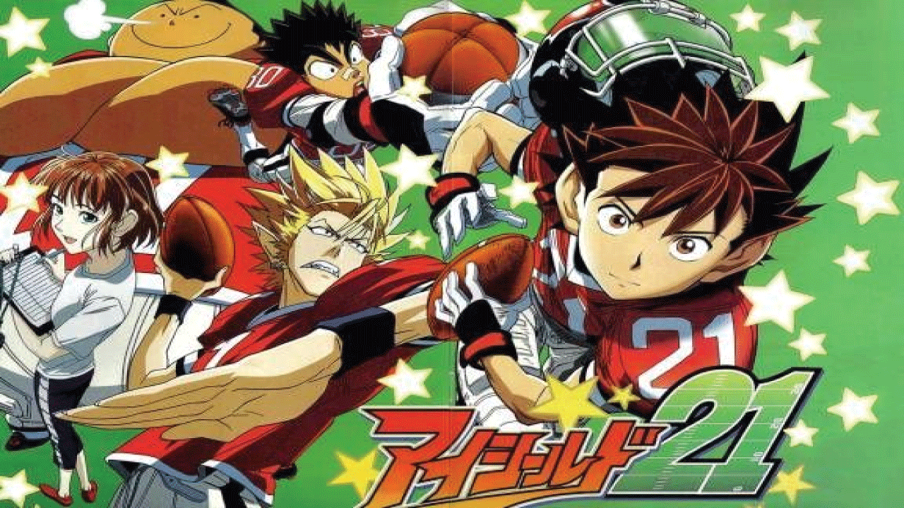 Eyeshield 21- best football anime