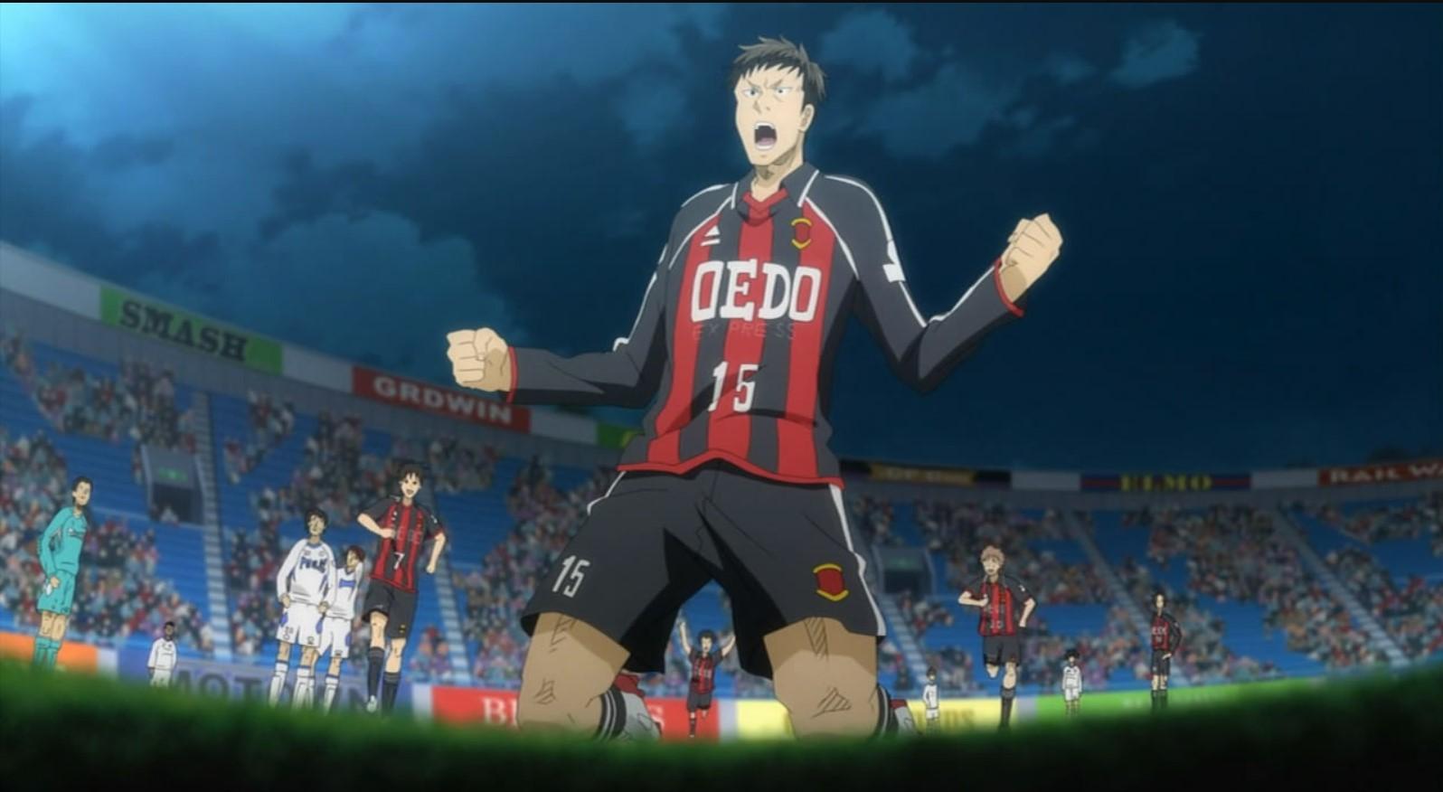 Giant Killing- best football anime