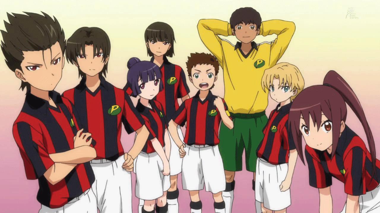 Ginga e Kickoff- best football anime