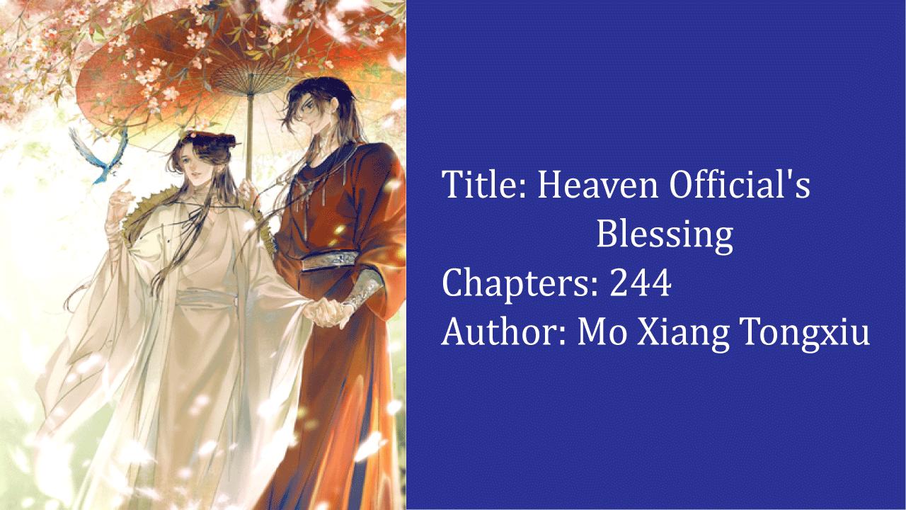 Heaven Official's Blessing- best cultivation novels
