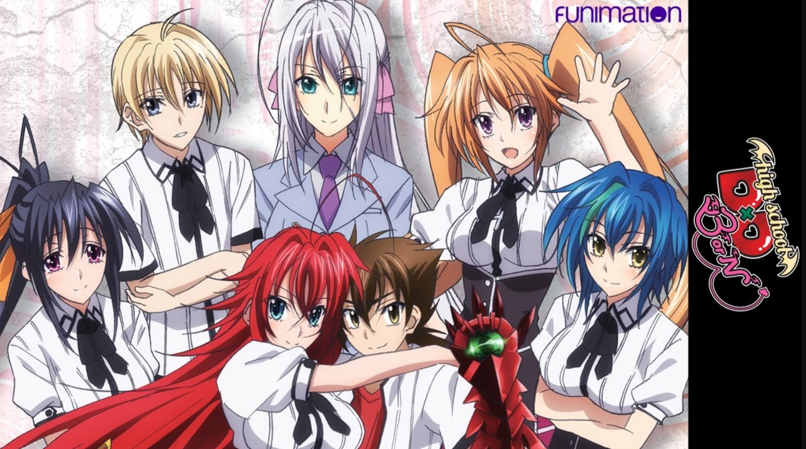high school dxd watch order