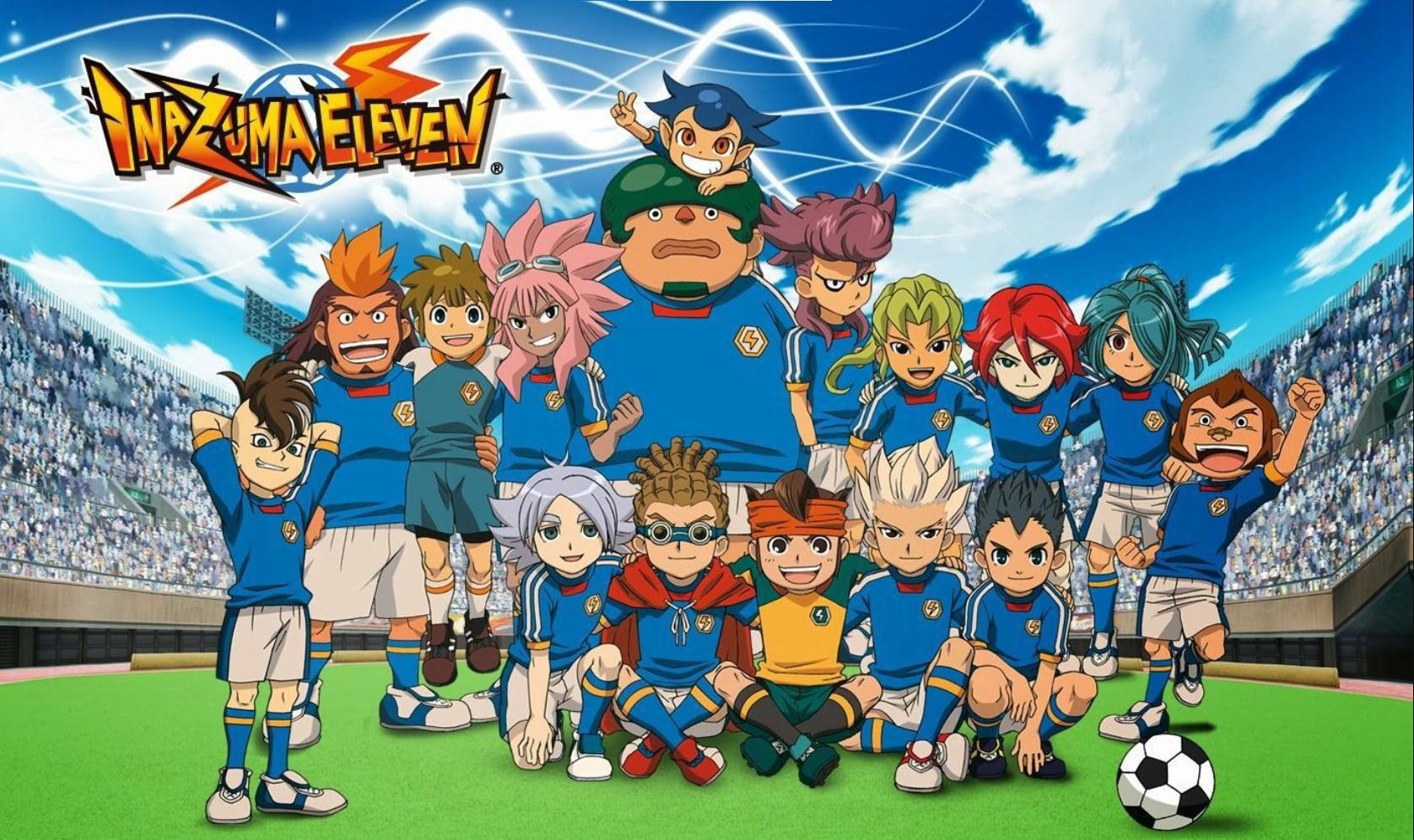 Inazuma Eleven- best football anime