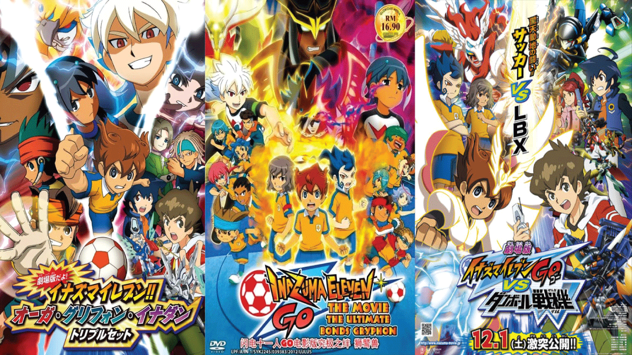 Inazuma Eleven Watch Order! Movies