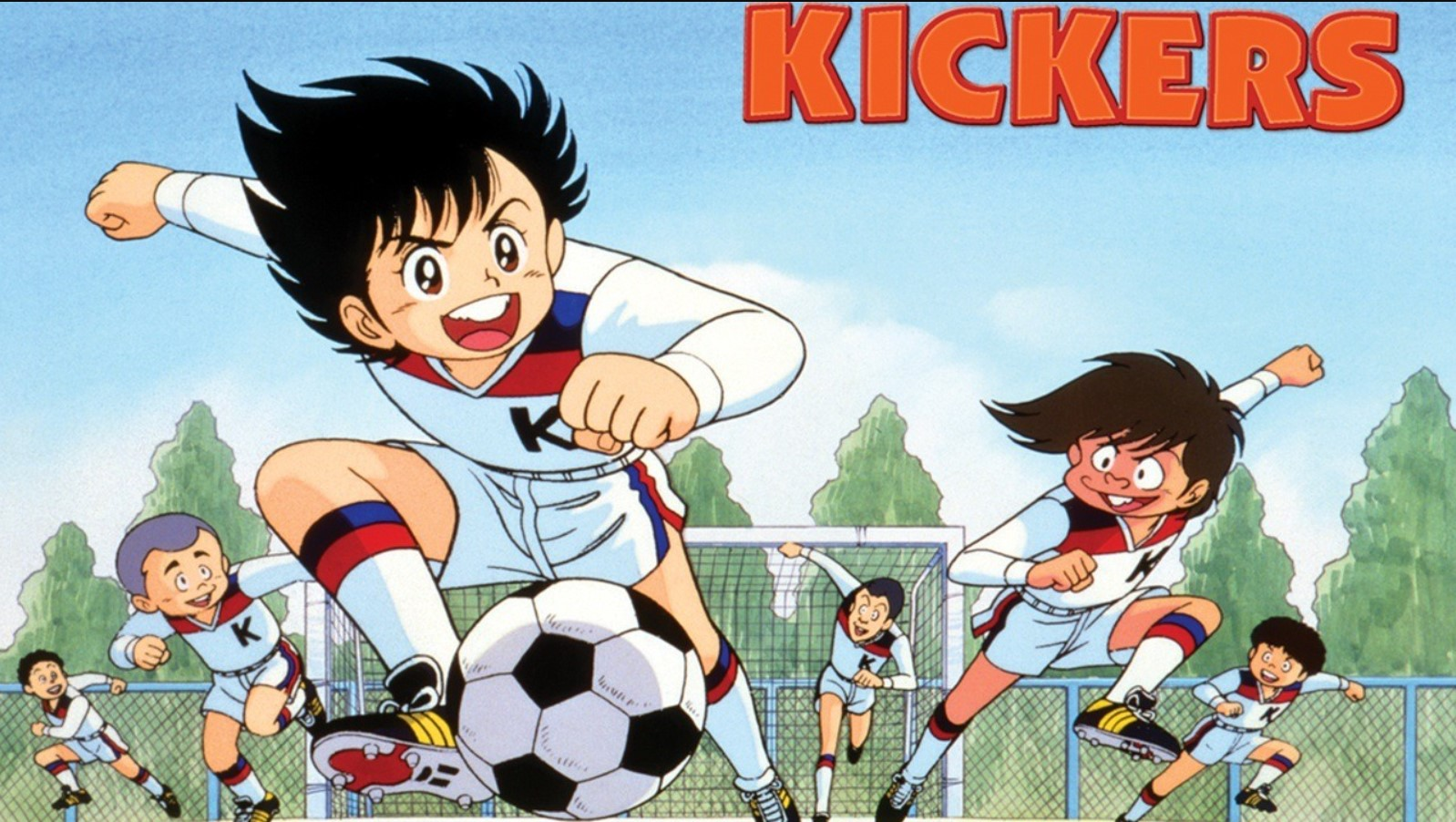 Fight! Kickers- best football anime