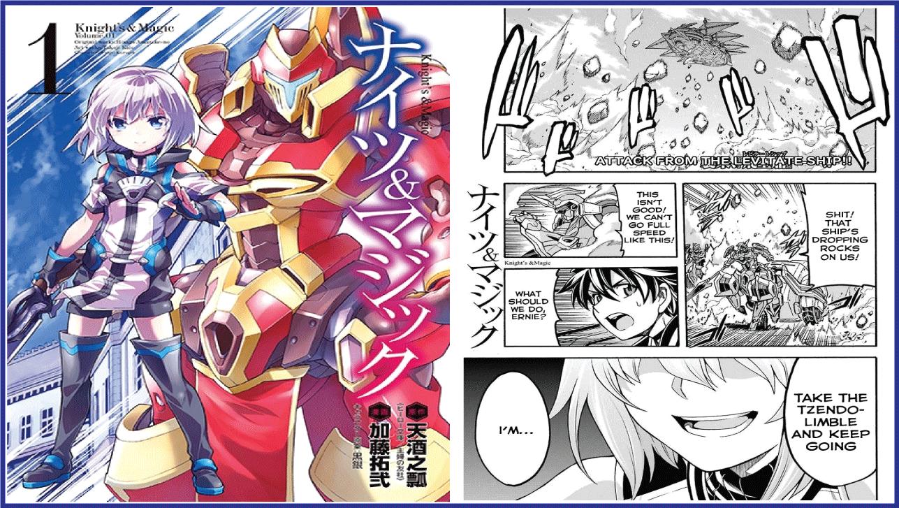 Knight's &Magic- best isekai manga