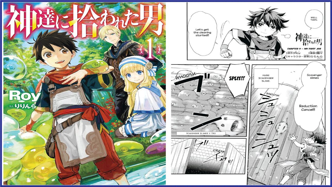The Man Picked Up By The Gods- best isekai manga