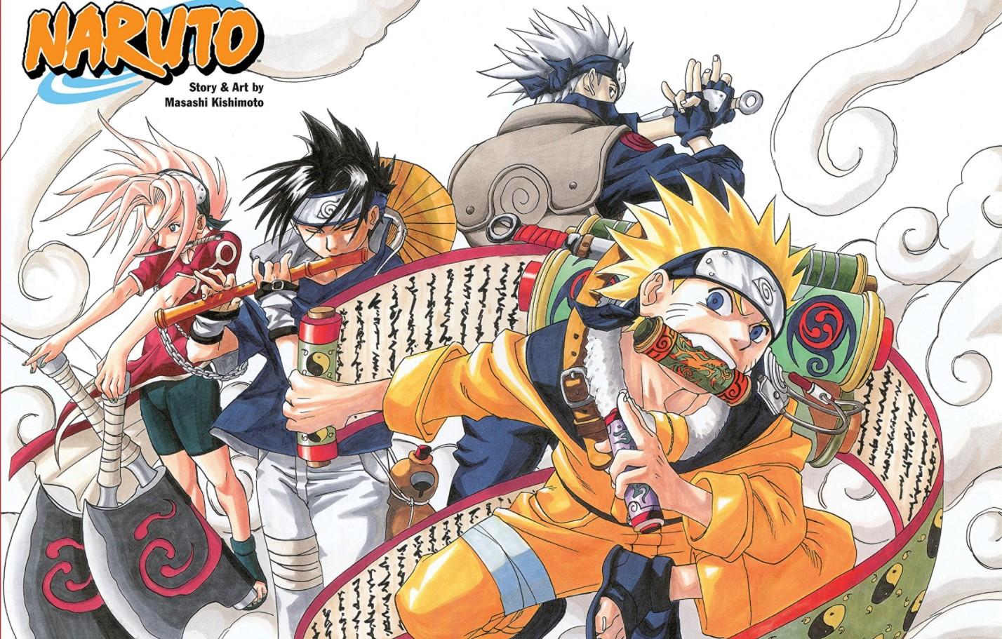 Naruto manga order/naruto novel order
