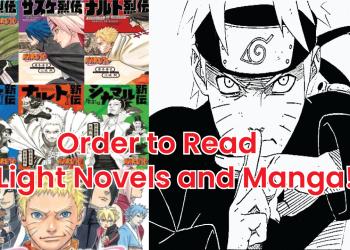 naruto novel order, naruto manga order