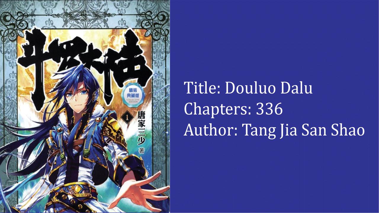 Douluo Dalu- best cultivation novels