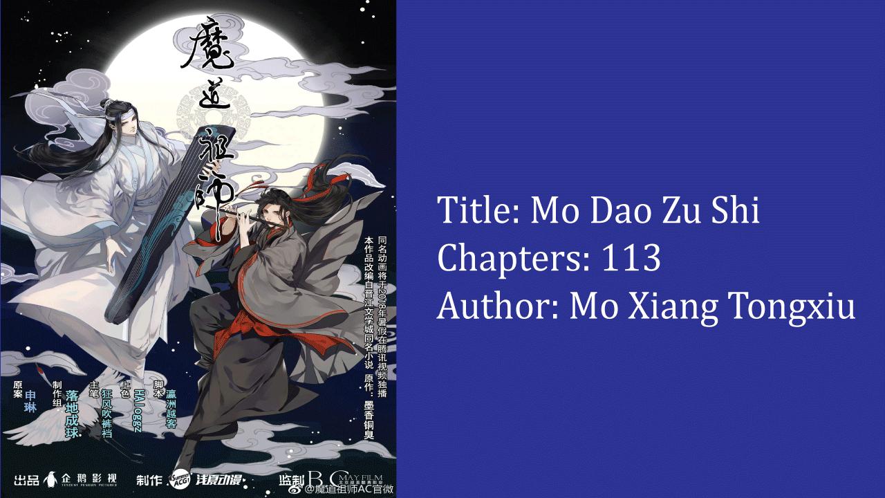 Mo Dao Zu Shi- best cultivation novels