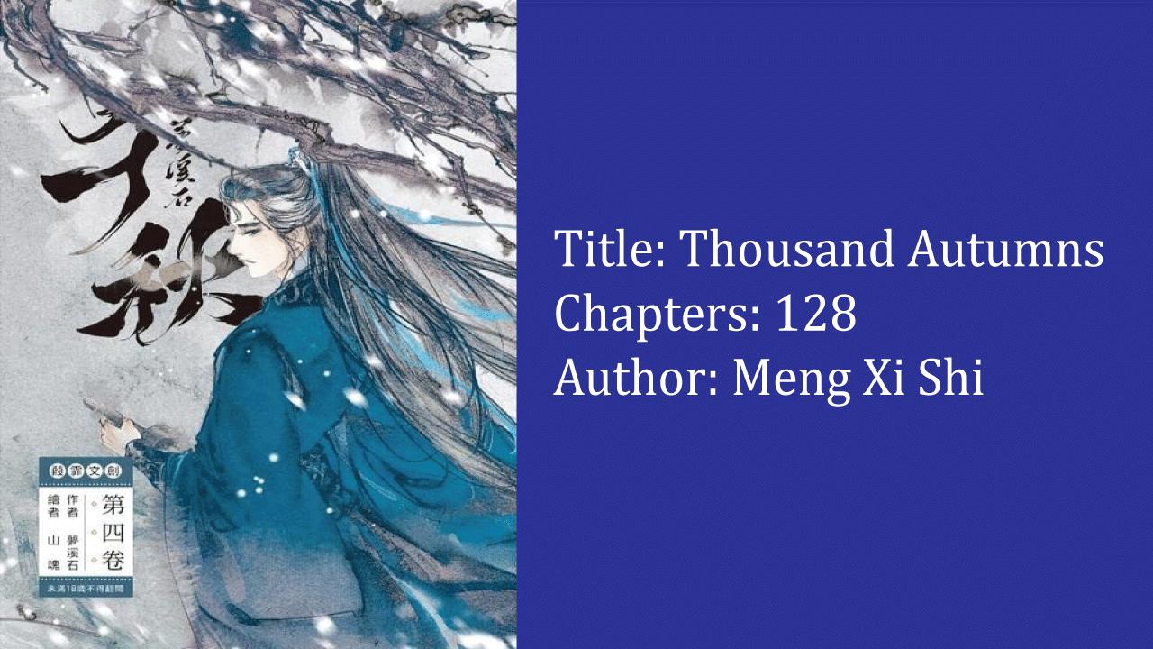 Thousand Autumns- best cultivation novels