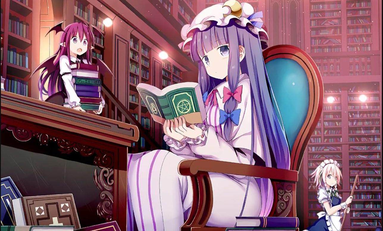 Touhou Project Light Novel Order!