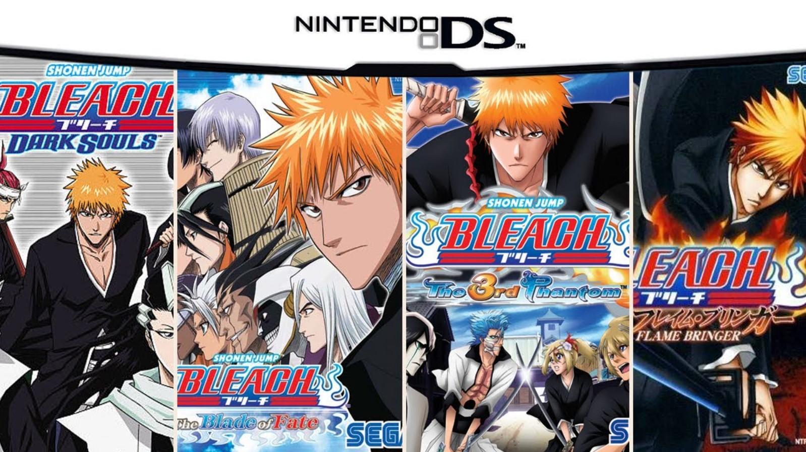 Bleach Games in Order: