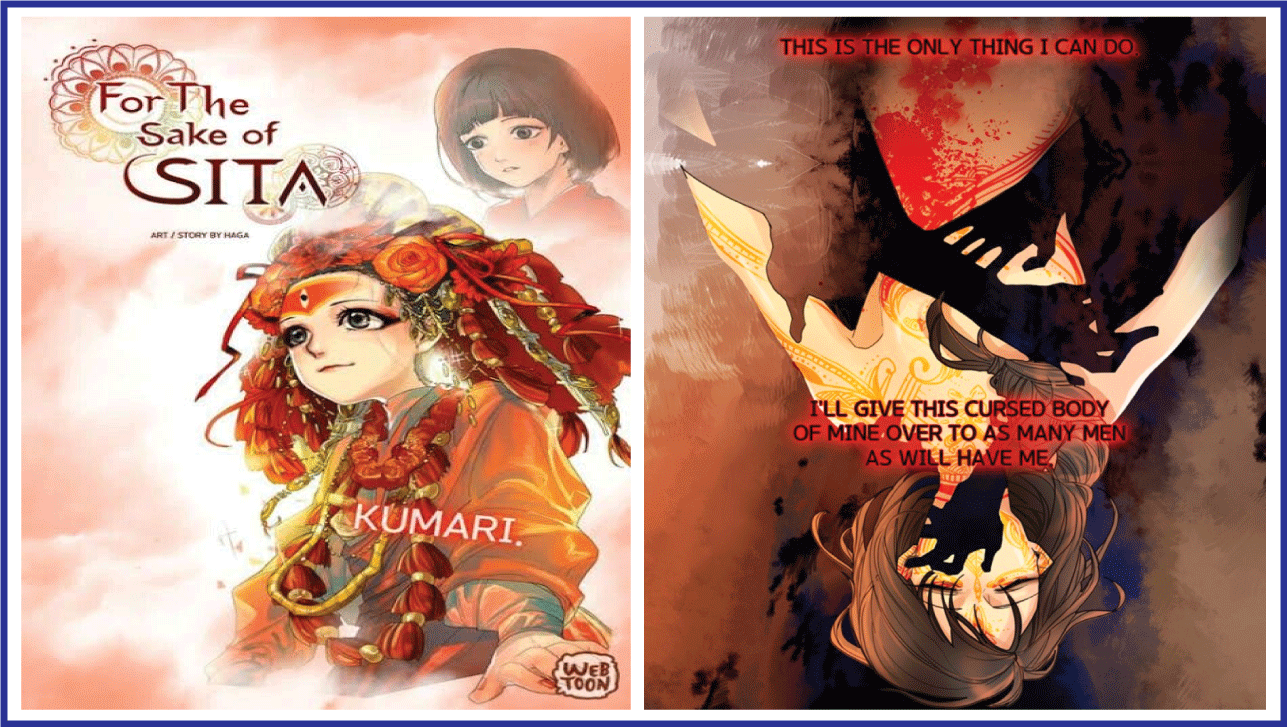 For the Sake of Sita- manhwa with good artwork