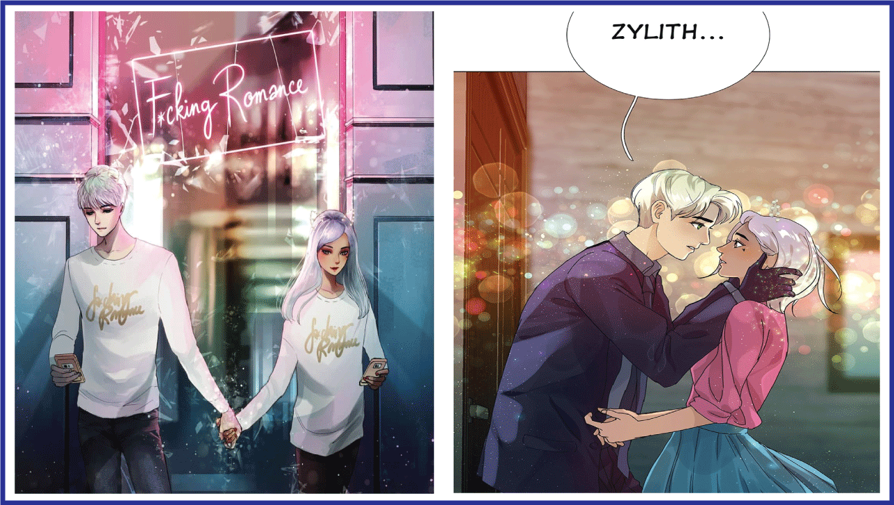Freaking Romance- manhwa with good artwork