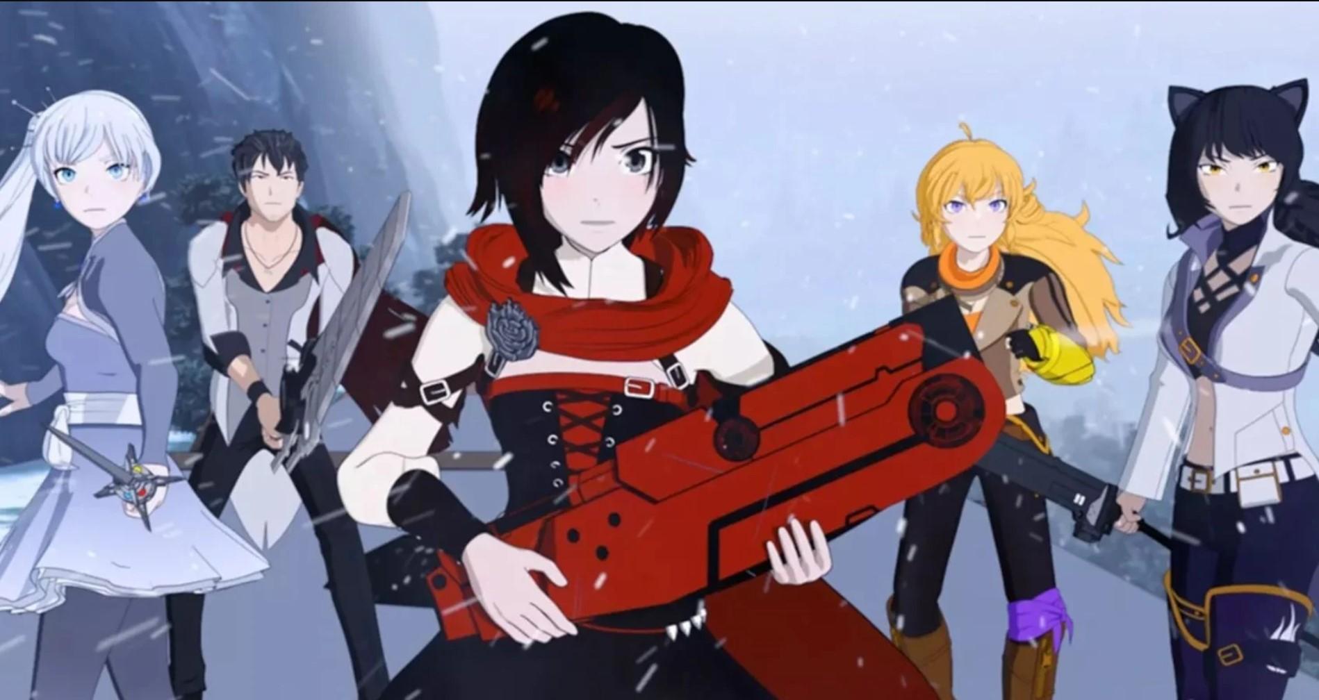 RWBY- Best American Anime!