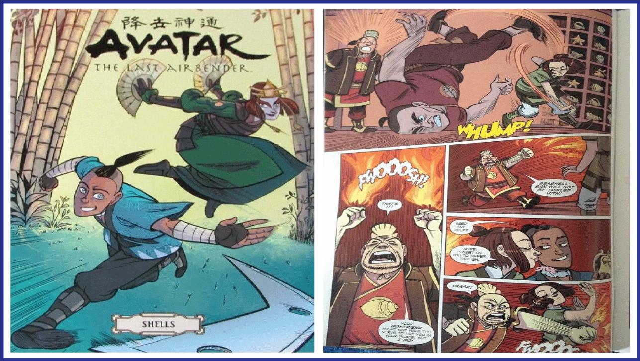 Avatar Comic Order