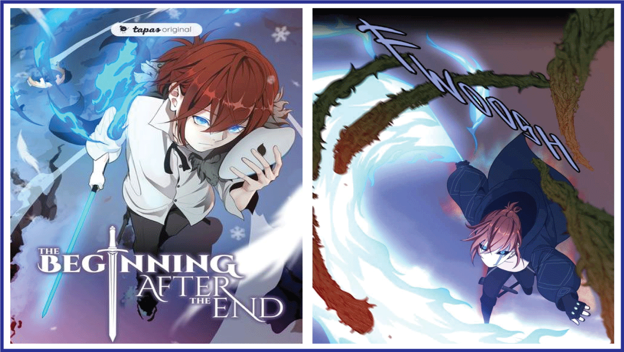 The Beginning After the End- manhwa simiar to eleceed