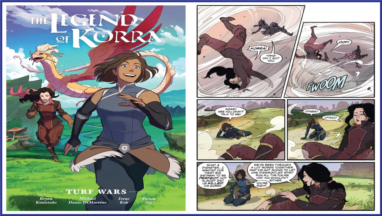 The Legend of Korra Comic Order!