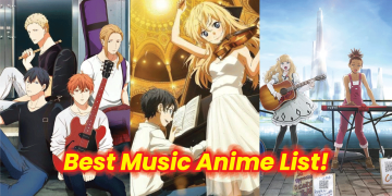 best music anime