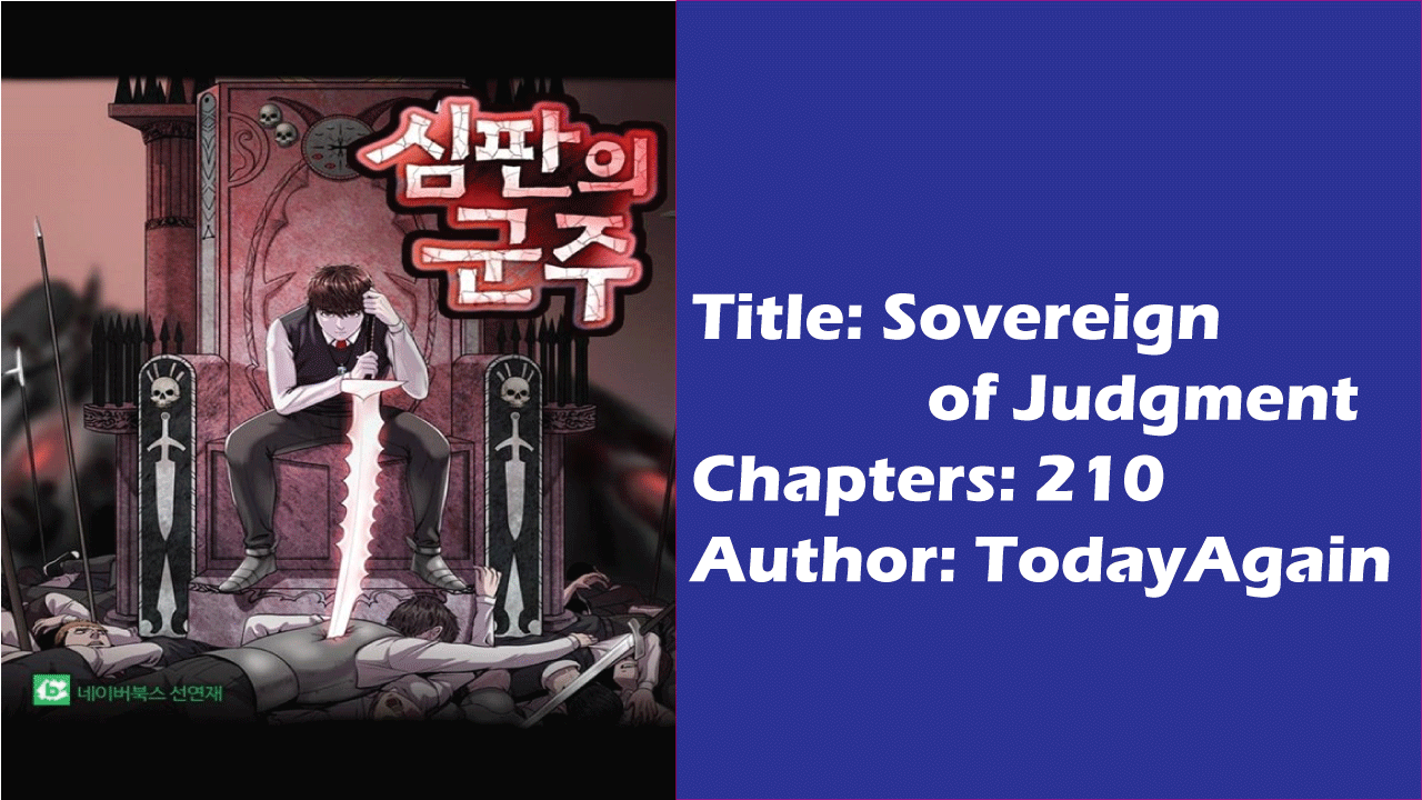 Sovereign of Judgement- Best Korean Light Novels!