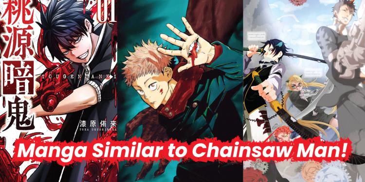 manga like chainsaw man