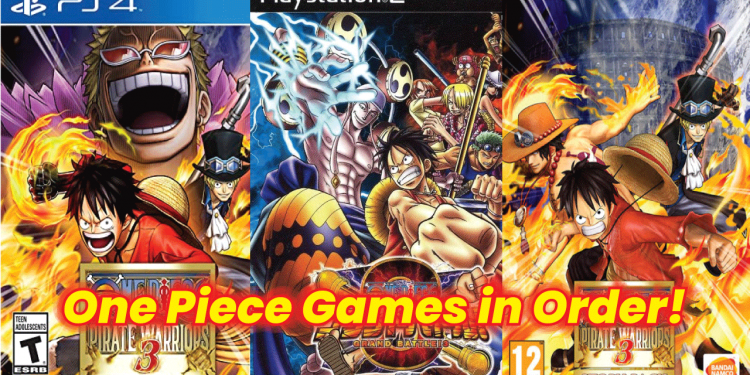 one piece games in order